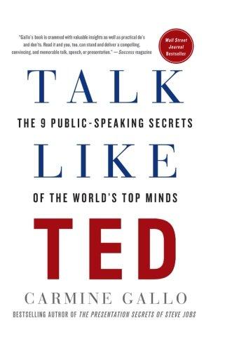 Talk Like Ted - Carmine Gallo - www.TofuAlan.net